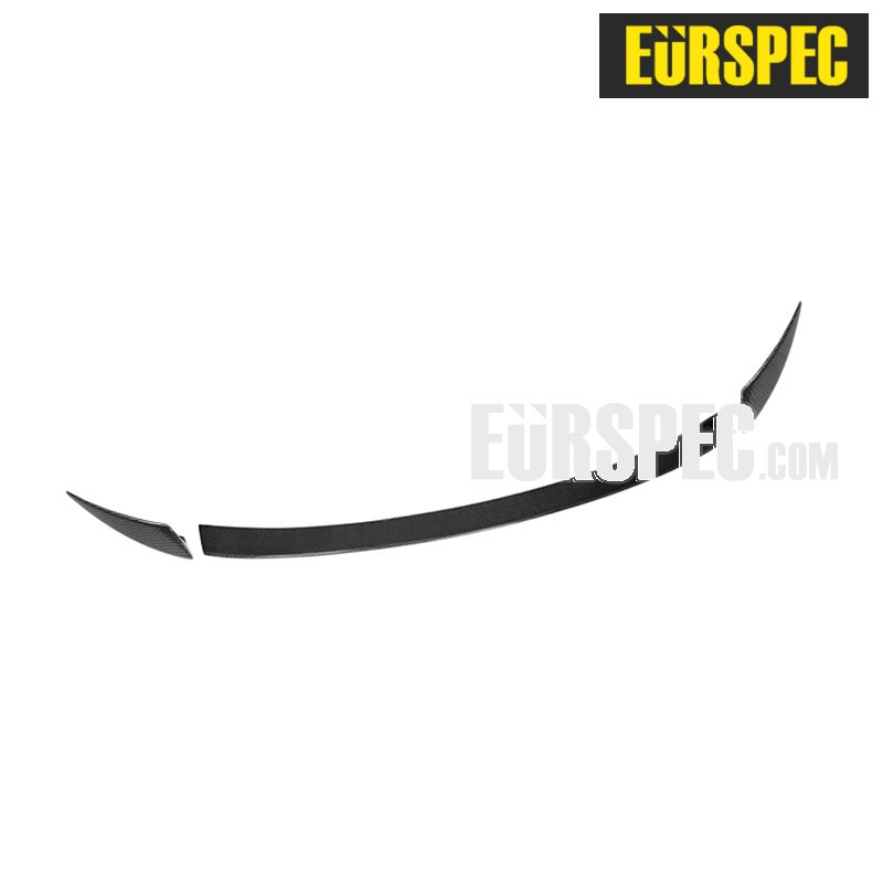 CARBON FIBRE 3D SPORTY AERODYNAMIC REAR WING FOR AUDI A4 Series